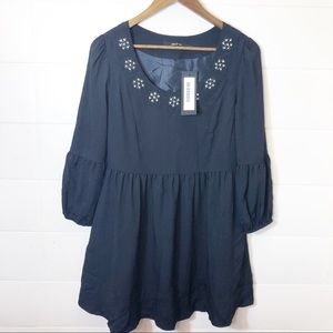 NWT Ark & Co Black Jewel Be Dress